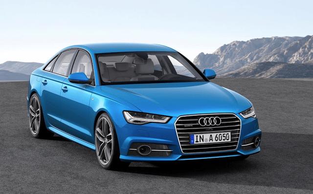 2015 Audi A6 blue