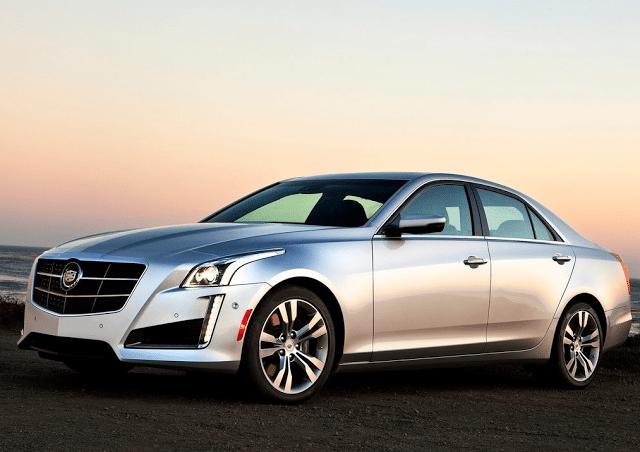 2015 Cadillac CTS silver