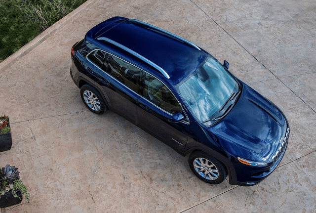 2015 Jeep Cherokee blue