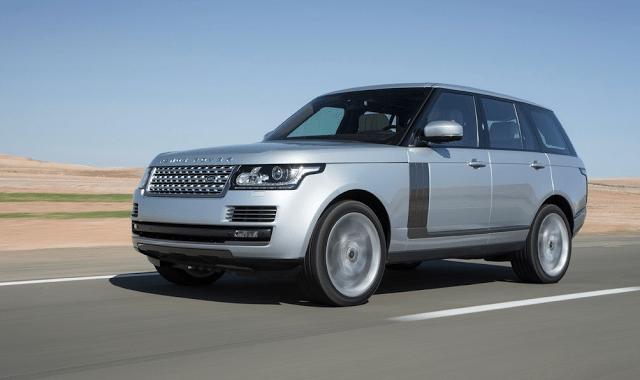 2015 Land Rover Range Rover silver