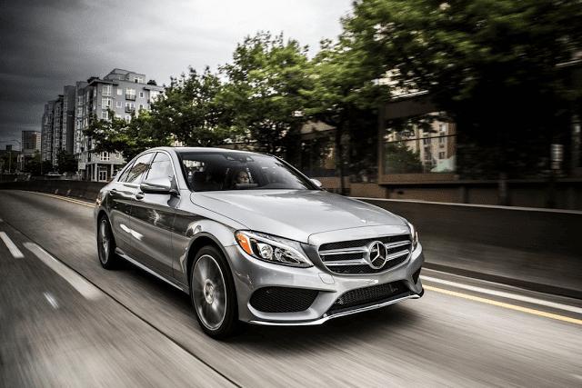 2015 Mercedes-Benz C-Class silver