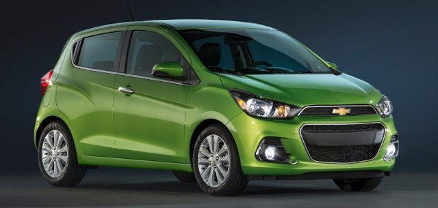 2016 Chevrolet Spark green