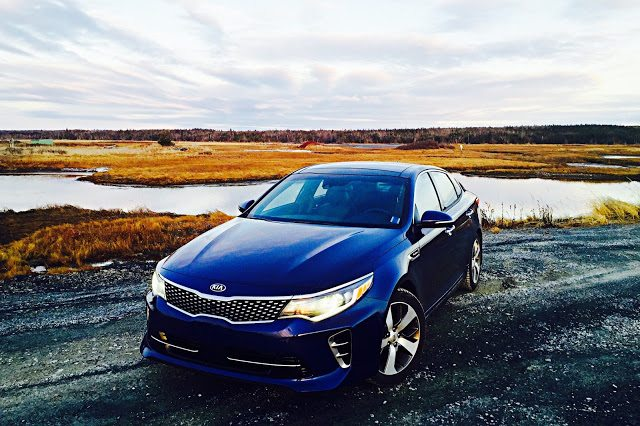 2016 Kia Optima SXL Turbo front