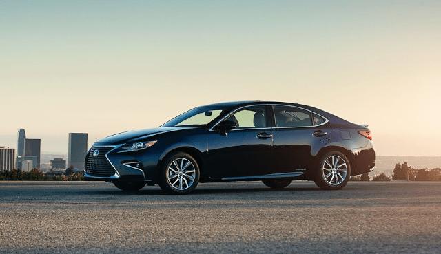 2016 Lexus ES navy