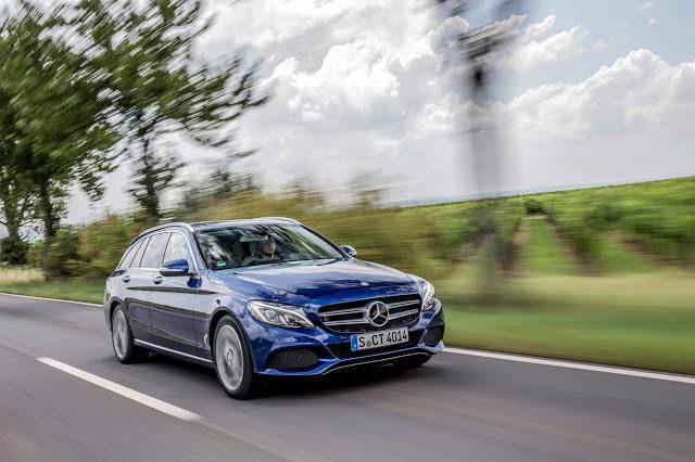 W205 2016 Mercedes-Benz C300d 4Matic wagon blue