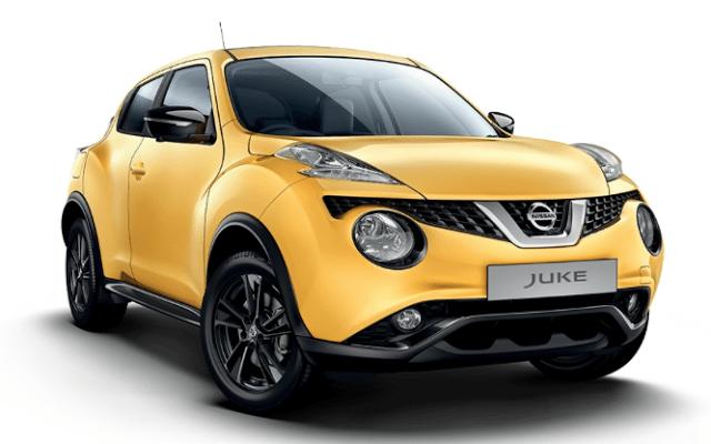 2016 Nissan Juke yellow RHD