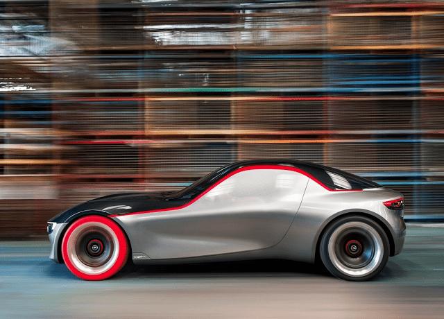 2016 Opel GT Concept profile