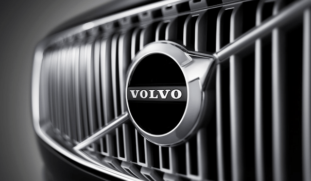 Volvo grille logo