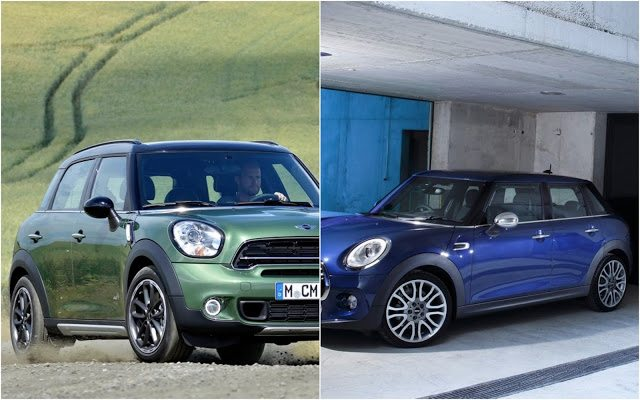 2015 Mini Countryman And Cooper 4-door