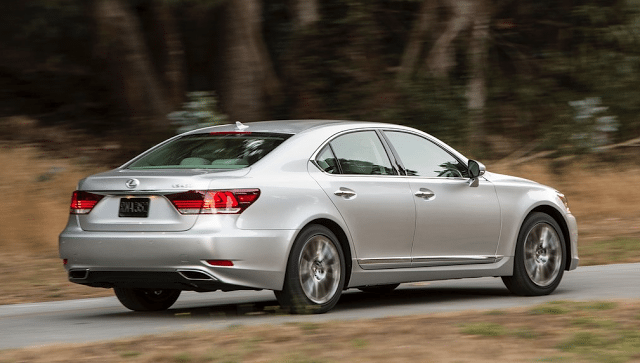 2015 Lexus LS460 silver