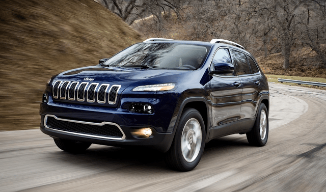 2015 Jeep Cherokee navy