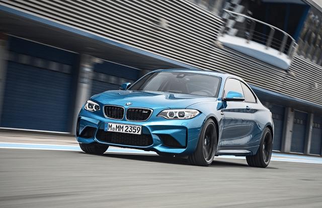 2016 BMW M2 blue track