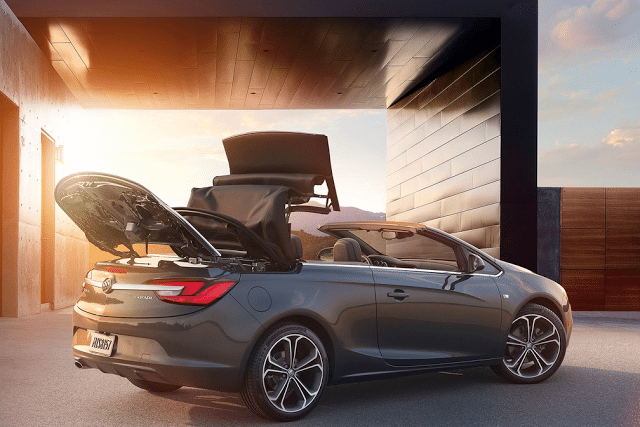2016 Buick Cascada roof operation