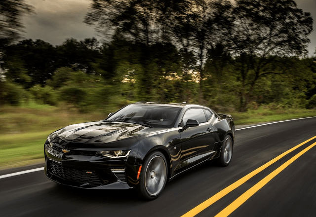 2016 Chevrolet Camaro SS black