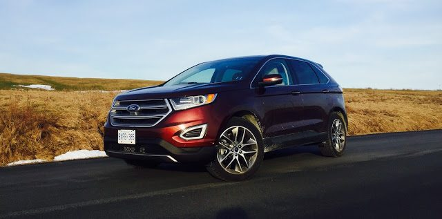 2016 Ford Edge Titanium AWD V6 Bronze Fire