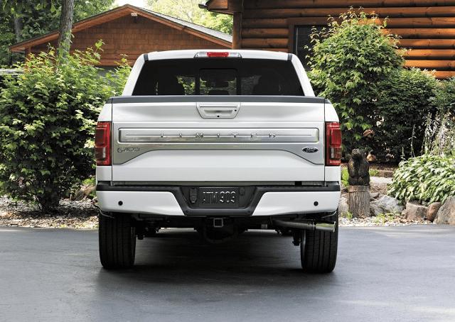 2016 Ford F-150 Platinum rear