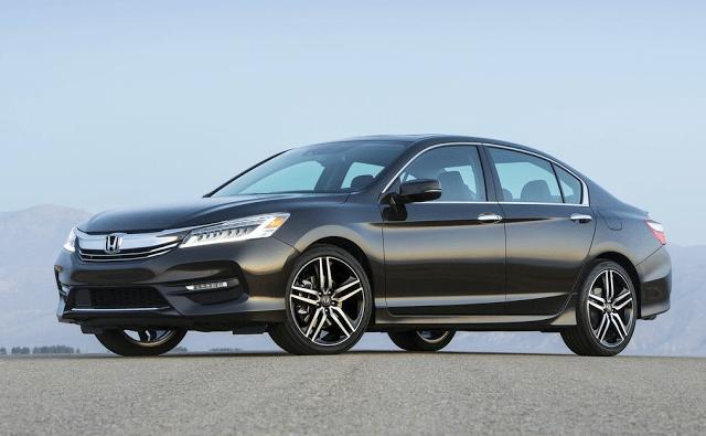 2016 Honda Accord Sport black