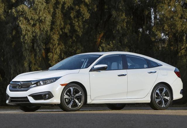 2016 Honda Civic white