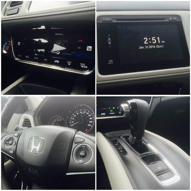 2016 Honda HR-V EX-L interior collage