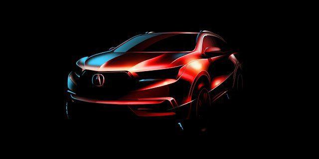 2017 Acura MDX sketch
