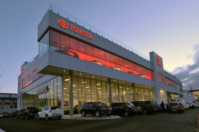 Jim Pattison Toyota dealership