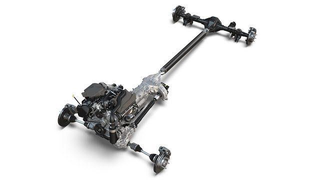 Ram 1500 EcoDiesel cutaway