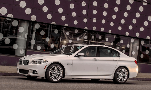 2015 BMW 5-Series sedan white