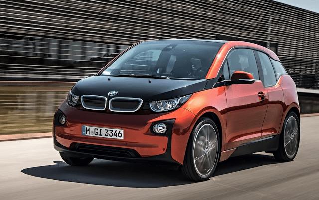 2014 BMW i3 orange