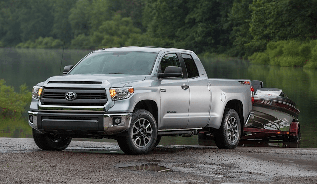 2014 Toyota Tundra double cab towing