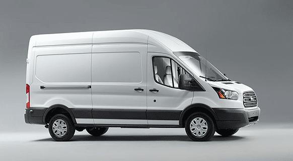 2016 Ford Transit white van