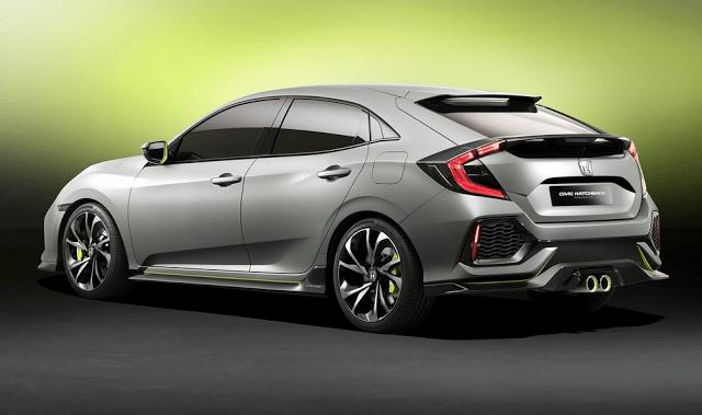 2016 Honda Civic Hatchback Concept Geneva