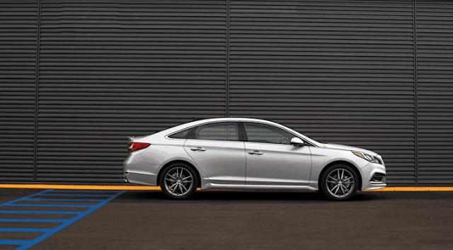 2016 Hyundai Sonata 2.0T silver