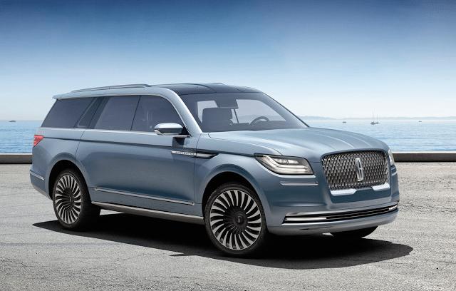 2016 Lincoln Navigator New York Auto show concept