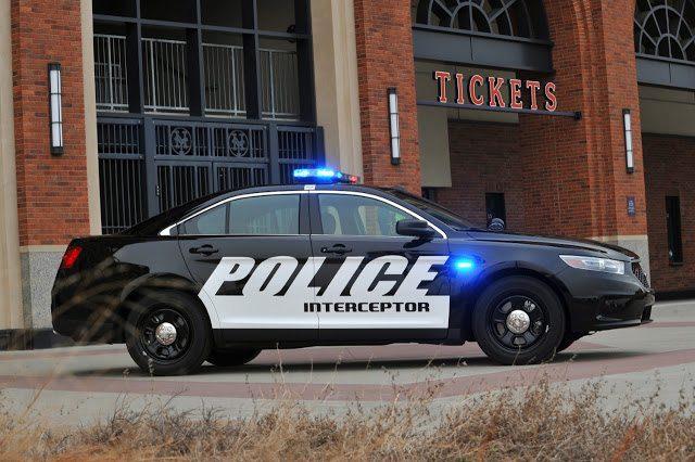 2016 Ford Taurus Police Interceptor Sedan (Source: Ford)