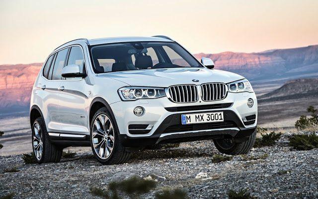 2015 BMW X3 white