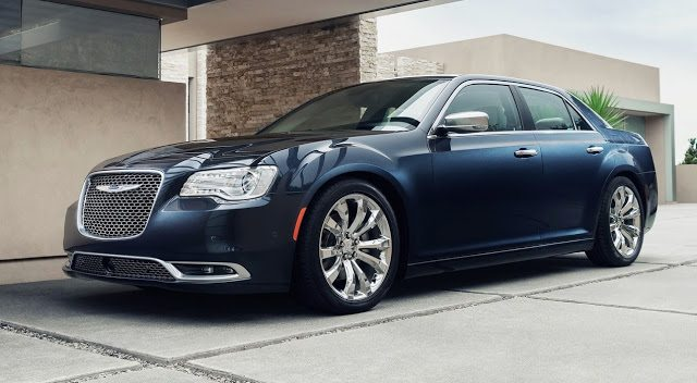 2015 Chrysler 300 blue