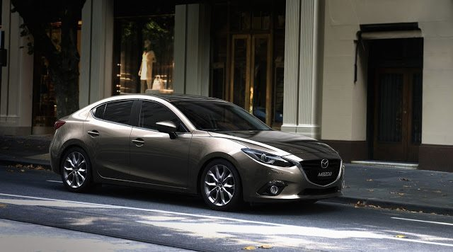 2016 Mazda 3 sedan beige