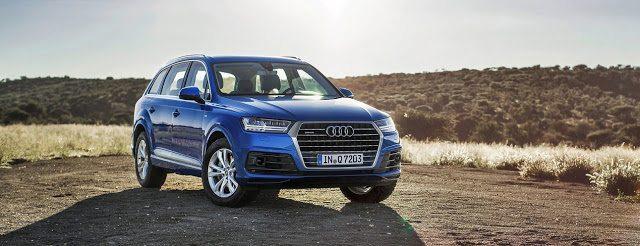 2016 Audi Q7 blue