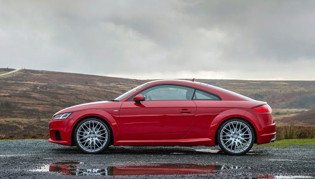 2016 Audi TT Coupe red