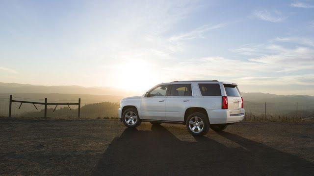 2016 Chevrolet Tahoe white