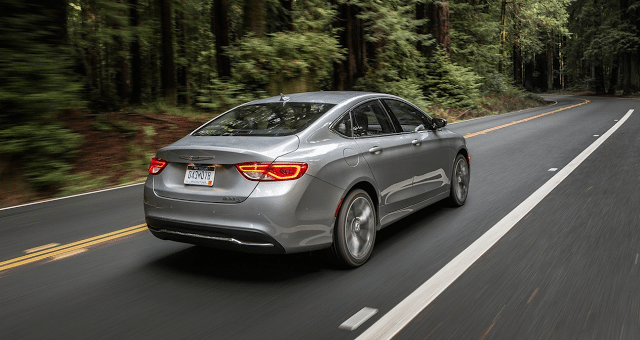 2015 Chrysler 200 grey