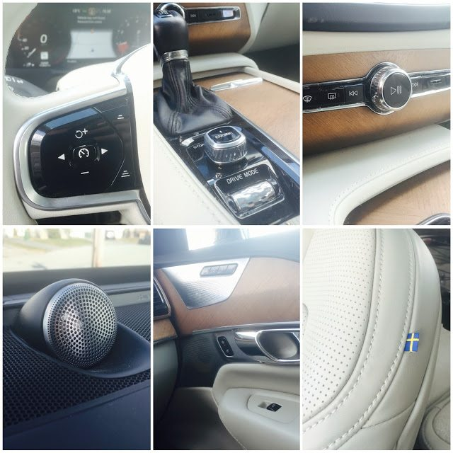 2016 Volvo XC90 Interior collage