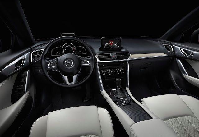 2017 Mazda CX-4 interior