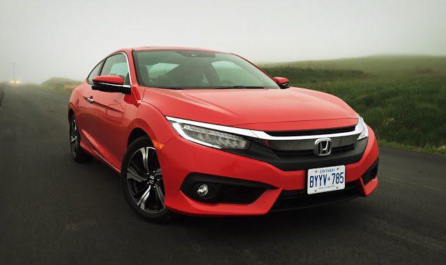2016 Honda Civic Coupe Rallye Red