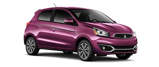 2016 Mitsubishi Mirage purple