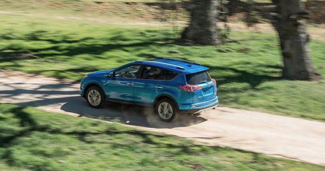 2016 Toyota RAV4 Hybrid blue