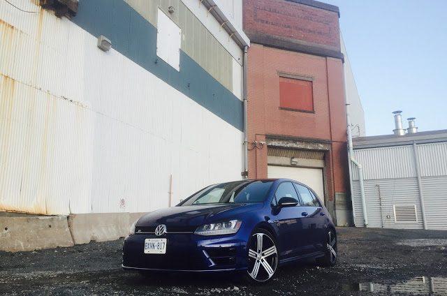 2016 Volkswagen Golf R Lapiz Blue