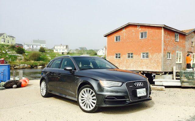 2016 Audi A3 e-tron Peggy's Cove
