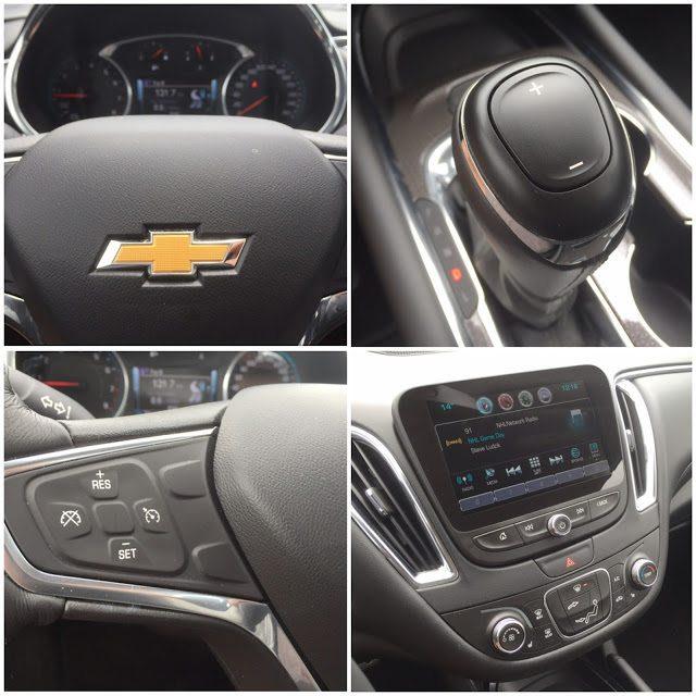 2016 Chevrolet Malibu LT interior details