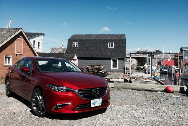 2016 Mazda 6 GT Soul Red Fisherman's Cove